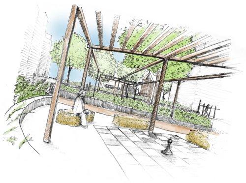 Landschaftsarchitektur Garten Skizze – usblife.info